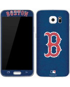 Boston Red Sox - Solid Distressed Galaxy S7 Skin
