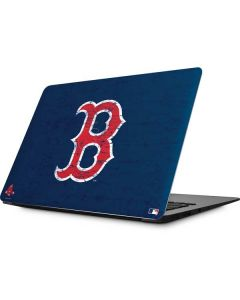 Boston Red Sox - Solid Distressed Apple MacBook Skin
