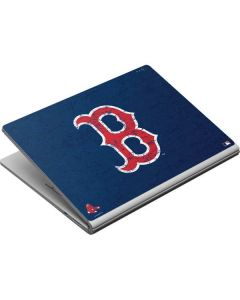 Boston Red Sox - Solid Distressed Surface Book Skin