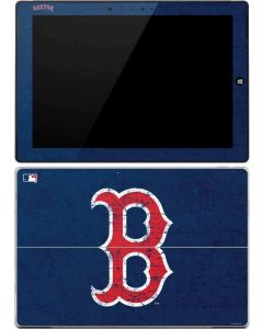 Boston Red Sox - Solid Distressed Surface 3 Skin