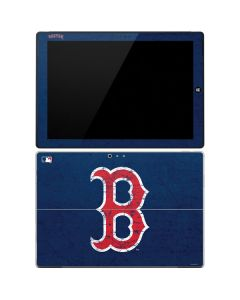 Boston Red Sox - Solid Distressed Surface Pro 3 Skin