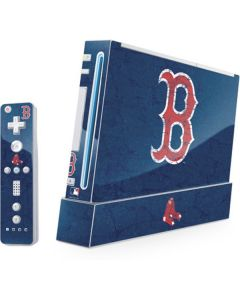 Boston Red Sox - Solid Distressed Wii (Includes 1 Controller) Skin