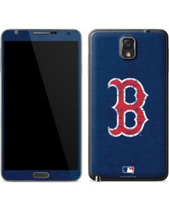 Boston Red Sox - Solid Distressed Galaxy Note 3 Skin