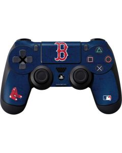 Boston Red Sox - Solid Distressed PS4 Controller Skin