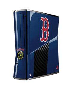 Boston Red Sox - Solid Distressed Xbox 360 Slim (2010) Skin