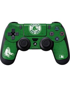 Boston Red Sox- Alternate Solid Distressed PS4 Controller Skin