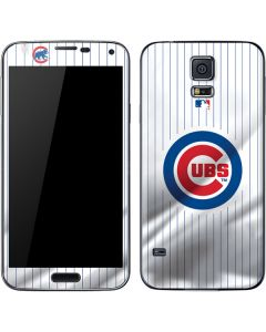 Chicago Cubs Home Jersey Galaxy S5 Skin