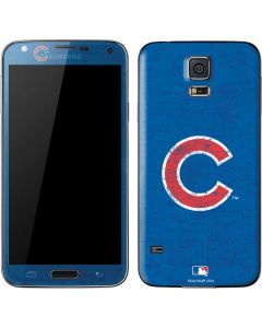 Chicago Cubs - Solid Distressed Galaxy S5 Skin