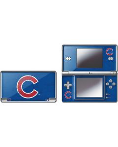 Chicago Cubs - Solid Distressed DS Lite Skin