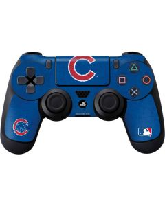 Chicago Cubs - Solid Distressed PS4 Controller Skin
