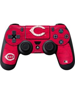 Cincinnati Reds - Solid Distressed PS4 Controller Skin