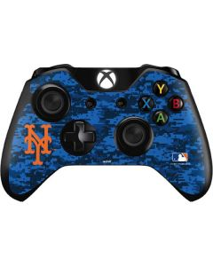 New York Mets Digi Camo Xbox One Controller Skin