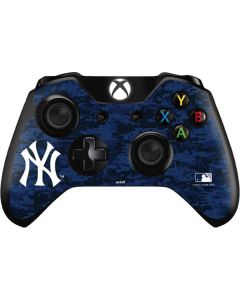 New York Yankees Digi Camo Xbox One Controller Skin
