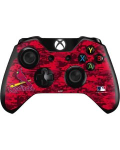 St Louis Cardinals Digi Camo Xbox One Controller Skin