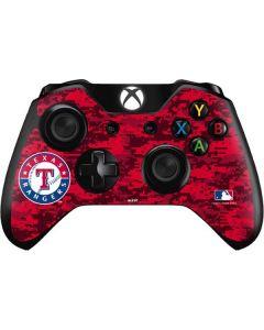 Texas Rangers Digi Camo Xbox One Controller Skin