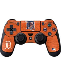 Detroit Tigers- Alternate Solid Distressed PS4 Controller Skin
