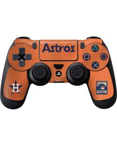 Houston Astros - Cooperstown Distressed PS4 Controller Skin