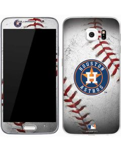 Houston Astros Game Ball Galaxy S7 Skin