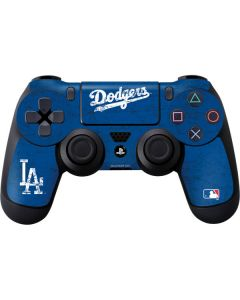 Los Angeles Dodgers- Alternate Solid Distressed PS4 Controller Skin