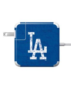 Los Angeles Dodgers - Solid Distressed Apple Charger Skin