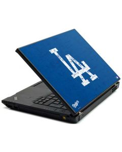 Los Angeles Dodgers - Solid Distressed Lenovo T420 Skin