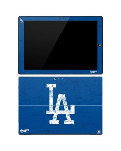 Los Angeles Dodgers - Solid Distressed Surface Pro 3 Skin