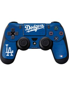 Los Angeles Dodgers - Solid Distressed PS4 Controller Skin