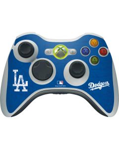 Los Angeles Dodgers - Solid Distressed Xbox 360 Wireless Controller Skin