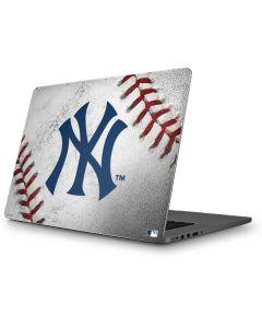 New York Yankees Game Ball Apple MacBook Pro Skin