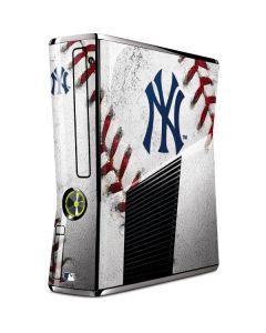 New York Yankees Game Ball Xbox 360 Slim (2010) Skin