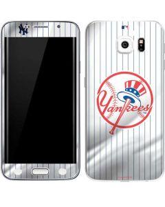 New York Yankees Home Jersey Galaxy S6 Edge Skin