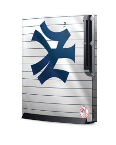 New York Yankees Home Jersey Playstation 3 & PS3 Slim Skin