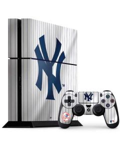 New York Yankees Home Jersey PS4 Console and Controller Bundle Skin