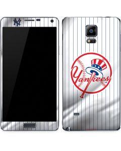 New York Yankees Home Jersey Galaxy Note 4 Skin