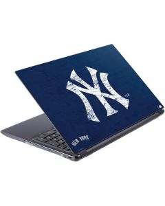 New York Yankees - Solid Distressed V5 Skin
