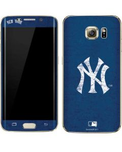 New York Yankees - Solid Distressed Galaxy S7 Edge Skin