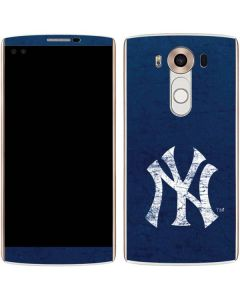 New York Yankees - Solid Distressed V10 Skin