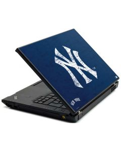 New York Yankees - Solid Distressed Lenovo T420 Skin