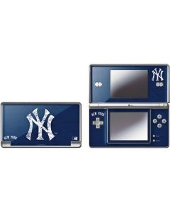 New York Yankees - Solid Distressed DS Lite Skin