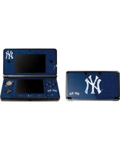 New York Yankees - Solid Distressed 3DS (2011) Skin