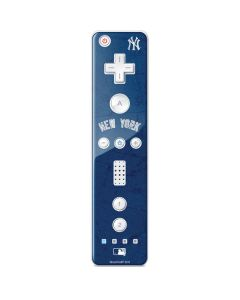 New York Yankees - Solid Distressed Wii Remote Controller Skin