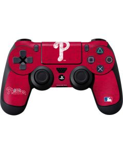 Philadelphia Phillies - Solid Distressed PS4 Controller Skin
