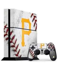 Pittsburgh Pirates Game Ball PS4 Console and Controller Bundle Skin