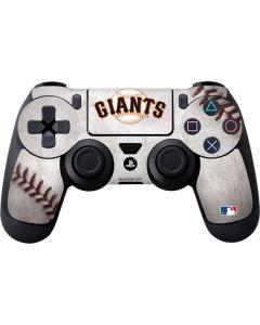 San Francisco Giants Game Ball PS4 Controller Skin