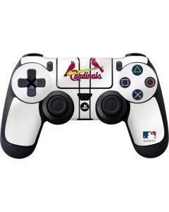 St. Louis Cardinals Home Jersey PS4 Controller Skin