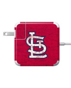 St. Louis Cardinals - Solid Distressed Apple Charger Skin
