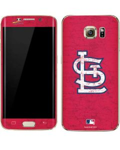 St. Louis Cardinals - Solid Distressed Galaxy S7 Edge Skin