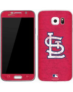 St. Louis Cardinals - Solid Distressed Galaxy S7 Skin
