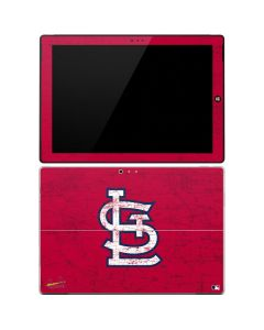 St. Louis Cardinals - Solid Distressed Surface Pro 3 Skin