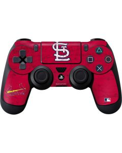 St. Louis Cardinals - Solid Distressed PS4 Controller Skin
